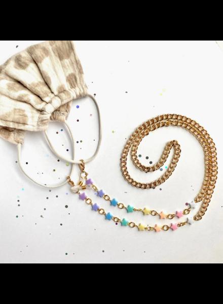 Tiny Sugar Company Stellar Mask/Glasses Chain