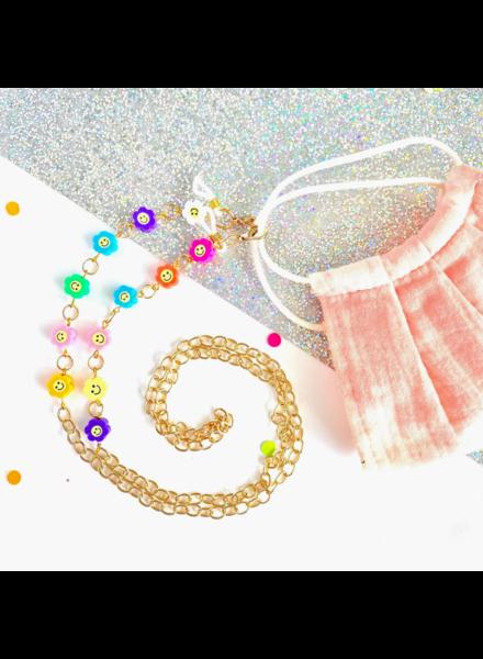 Tiny Sugar Company Daisy Craze Mask/Glasses Chain