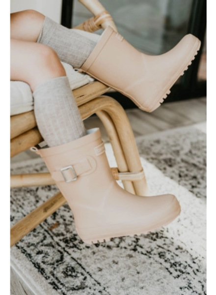 Forever French Baby Rain Boot {Tan}