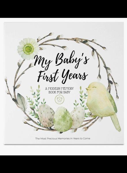 KeaBabies Baby First Years Memory Book {Wonderland}