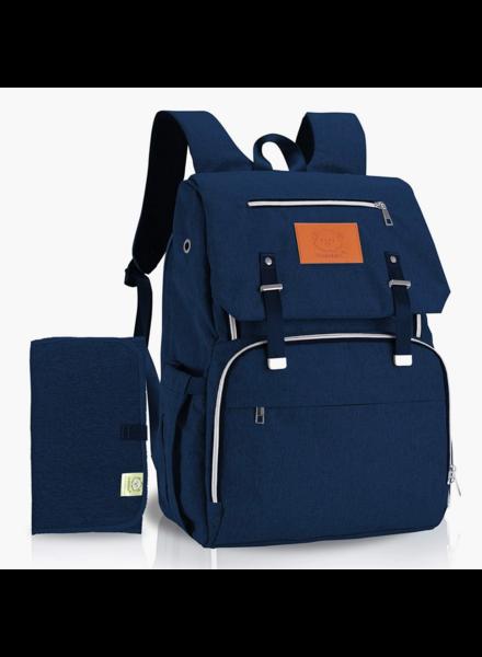 KeaBabies Explorer Diaper Backpack {Navy Blue}