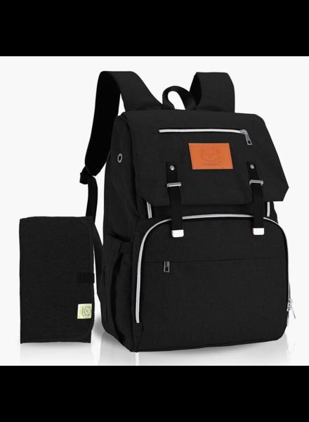 KeaBabies Explorer Diaper Backpack {Trendy Black}