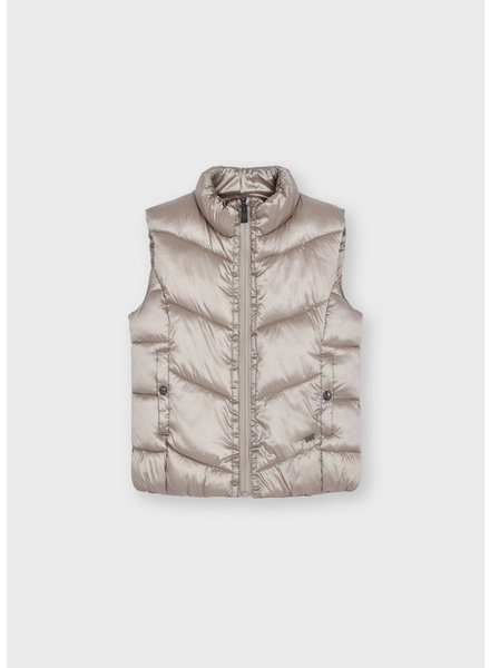 Mayoral Reversible Vest {Champagne}