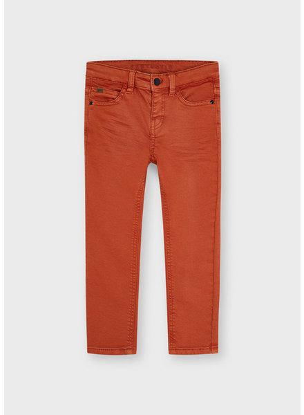 Mayoral Soft Slim Pants {Orange}