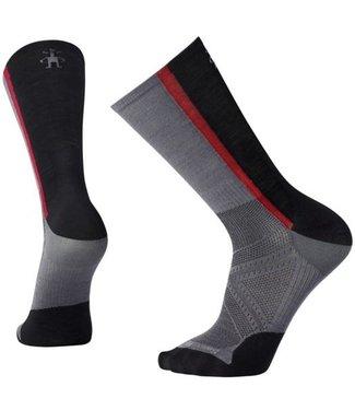 SMARTWOOL Men's PhD® Cycle Ultra Light Pattern Crew Socks