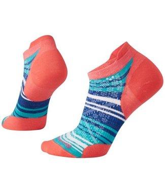SMARTWOOL Women's PhD® Run Ultra Light Striped Micro Socks
