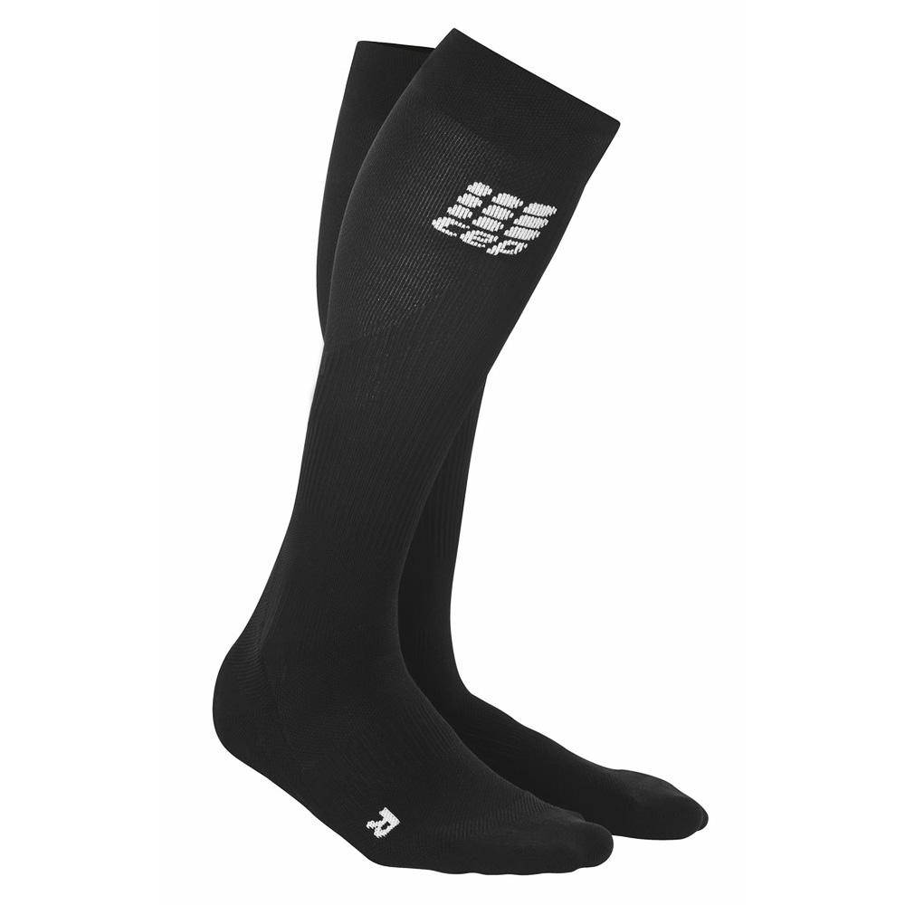 CEP Womens Obstacle Run Compression Socks II Size 2 Pair Gold