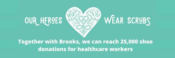 Brooks Heroes Wear Scrubs