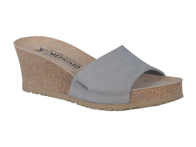 Mephisto LISE LIGHT GREY NUBUCK