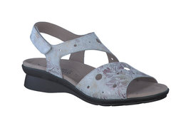 Mephisto PHIBY PERF LIGHT GREY FLORAL