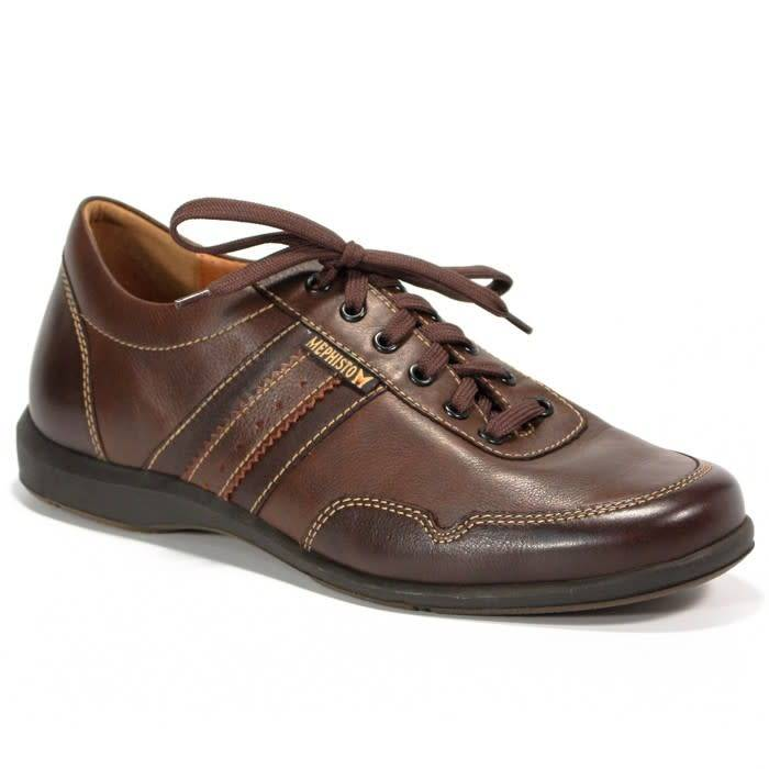 Mephisto BONITO CHESTNUT/DARK BROWN