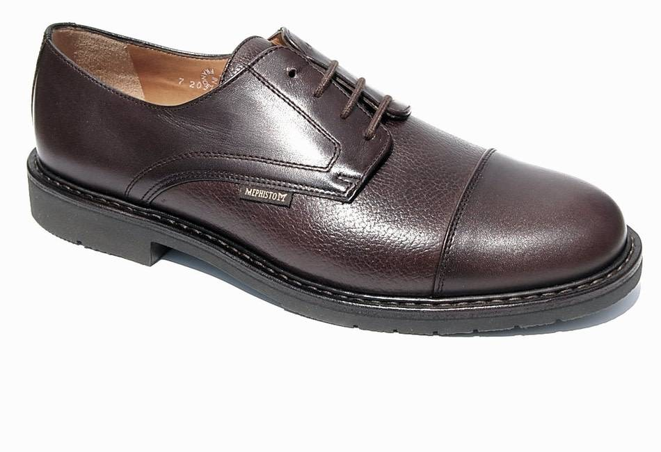 Mephisto MELCHIOR DARK BROWN SMOOTH/GRAIN