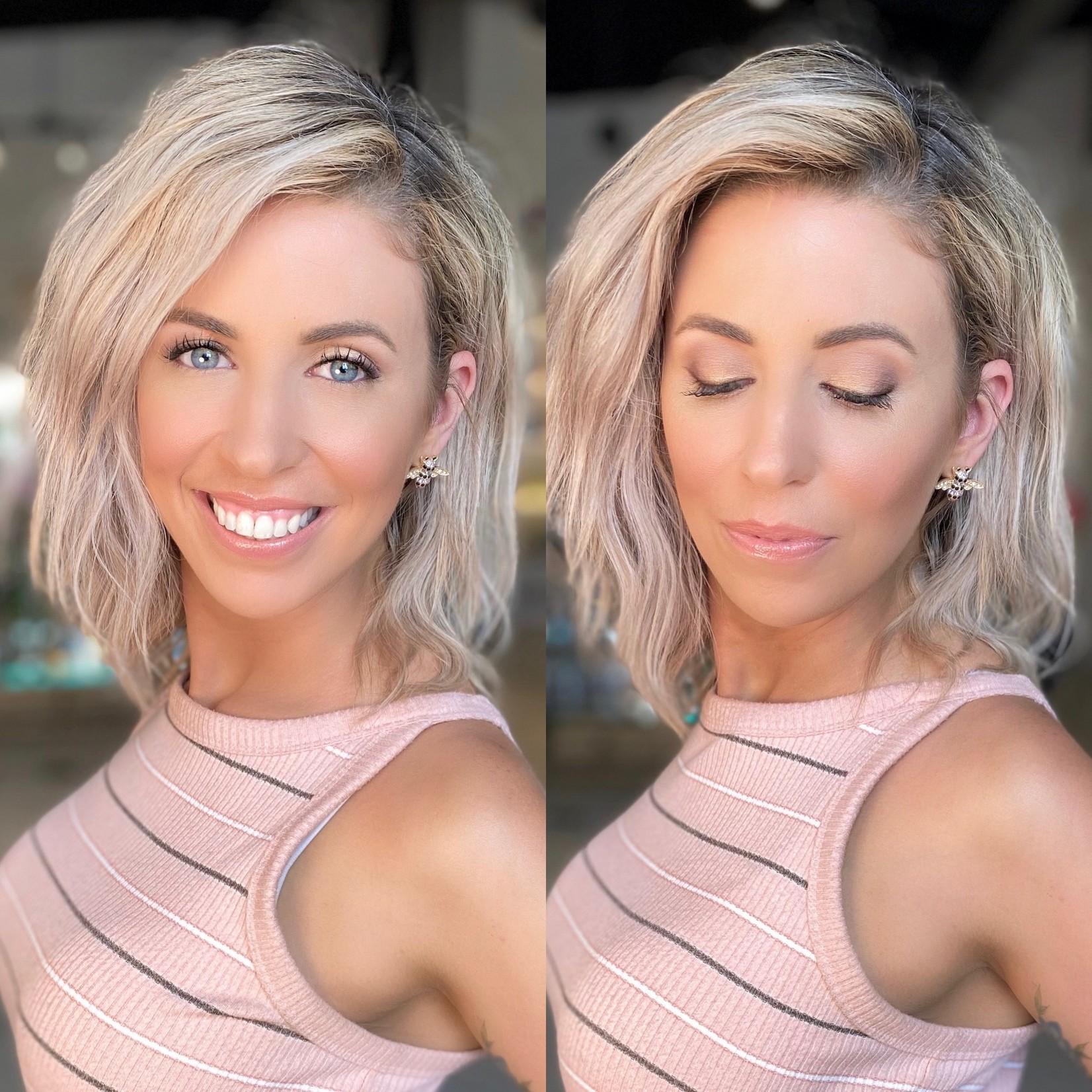 JKC SHOP BY EYE  - Blonde Hair + Blue Eyes