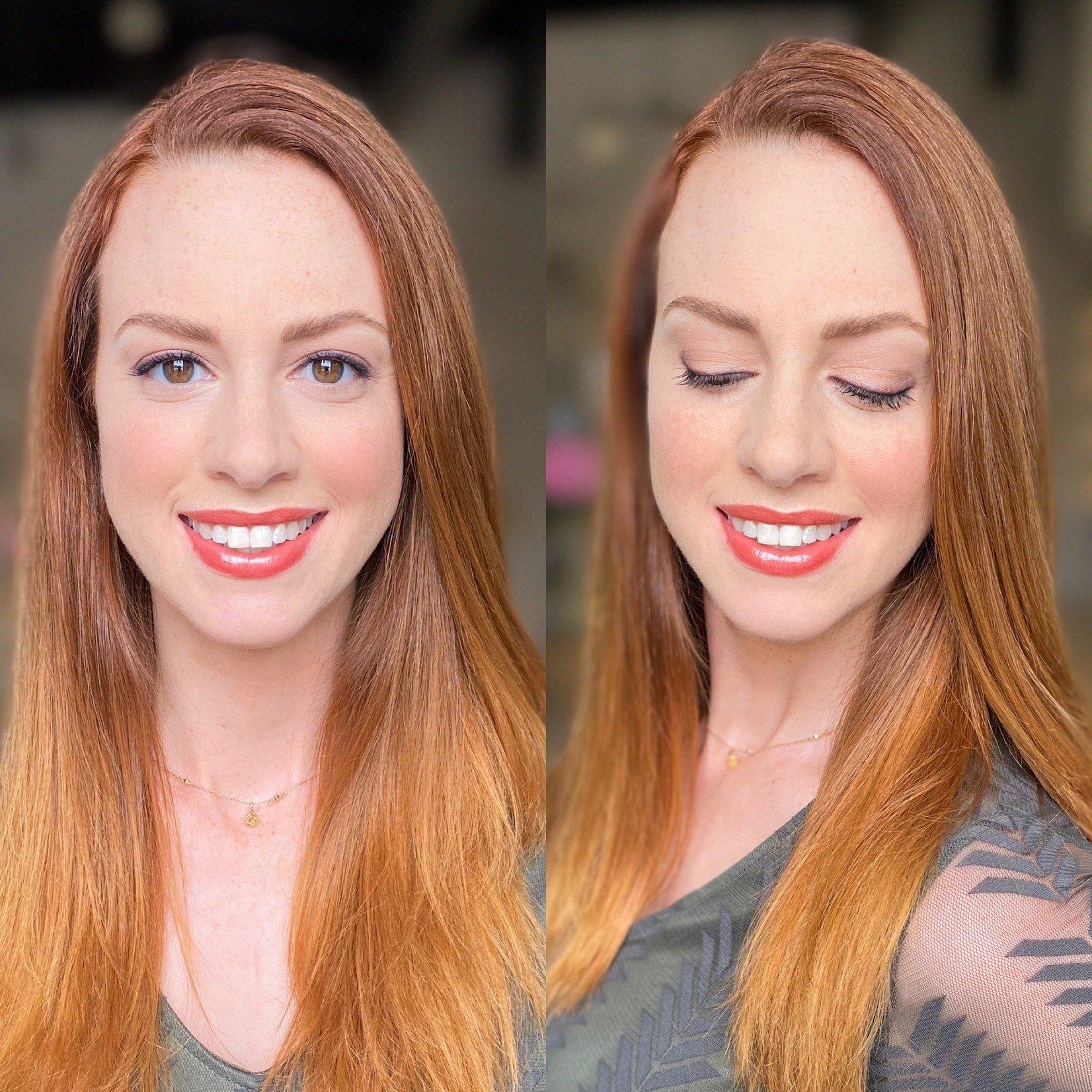 JKC SHOP BY EYE  - Auburn/Red Hair + Brown Eyes