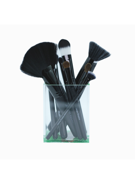 JKC Leopard Brush Set with Cup