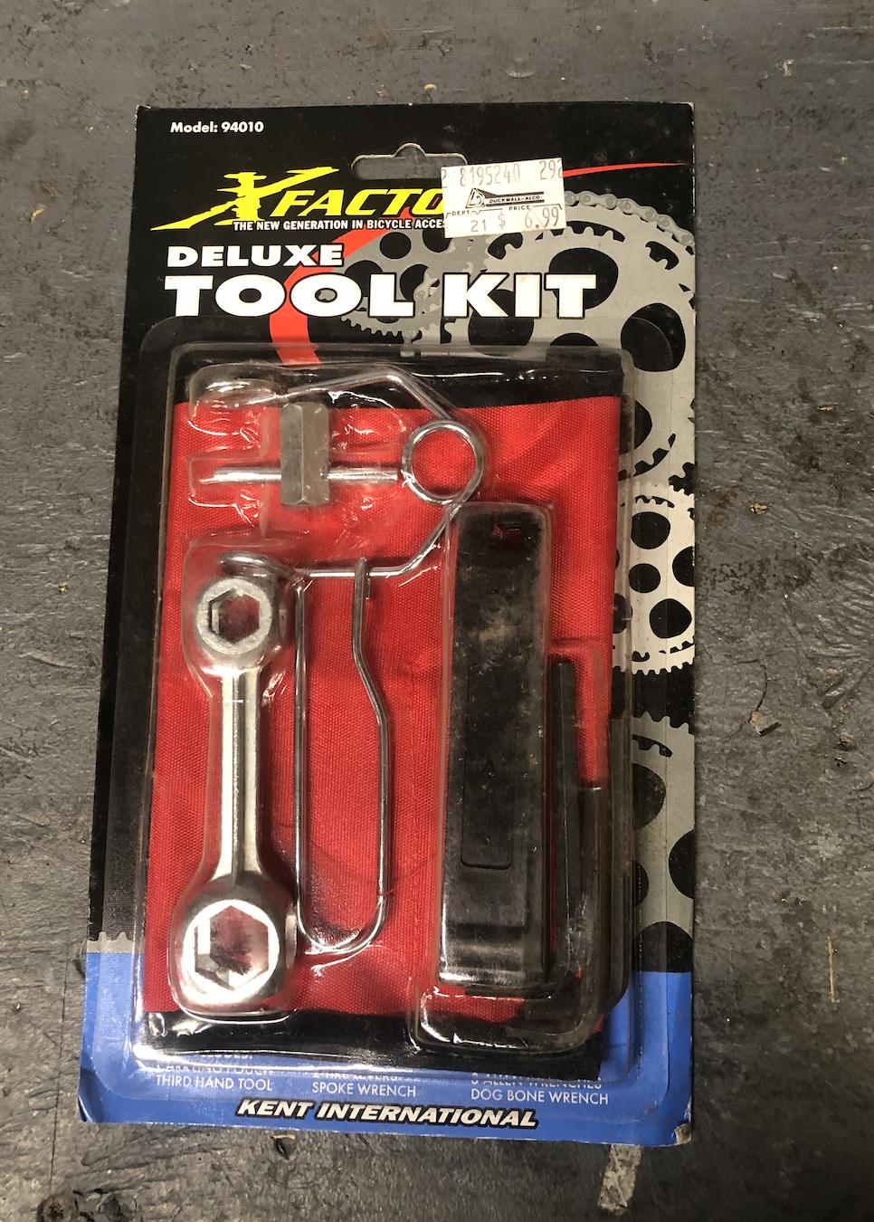 X-Factor Deluxe Tool Kit