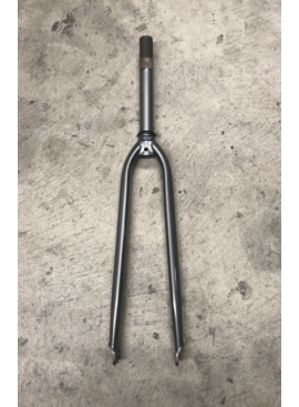 Threaded 700 Hybrid Fork (Gray)