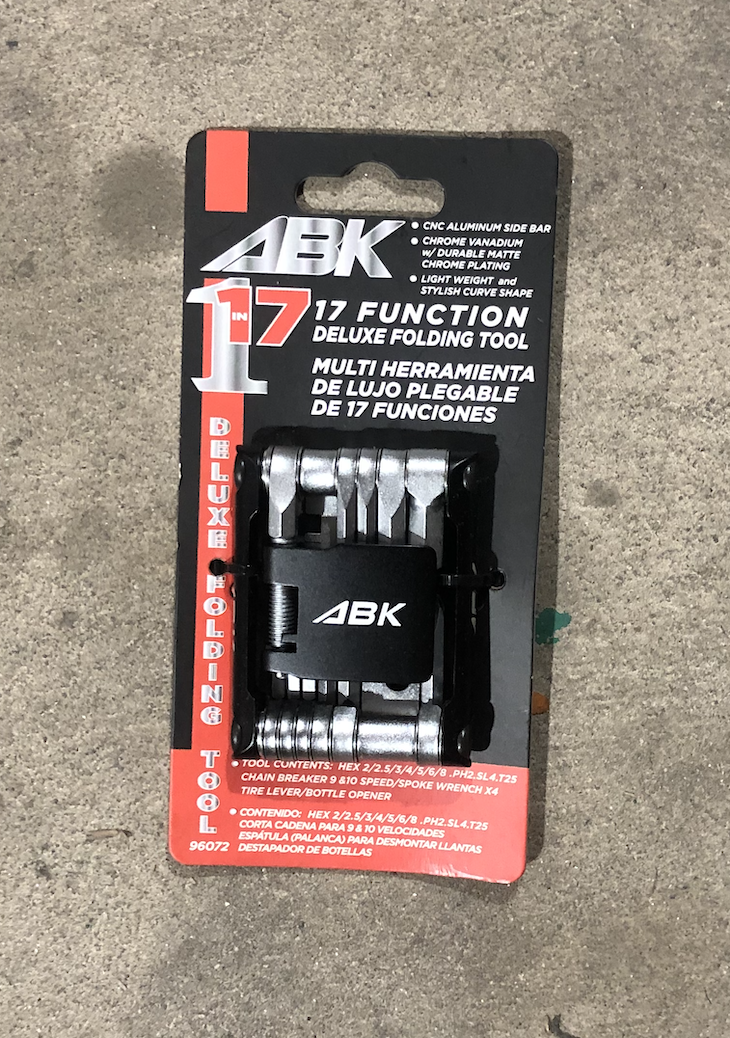 ABK 17 Function Deluxe Folding Tool