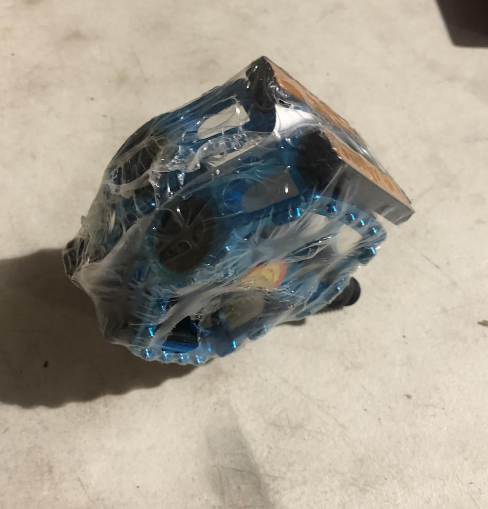 1/2 Pedals (Blue )