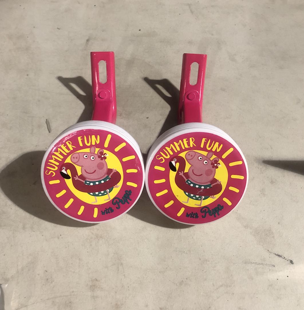 Peppa Pig Children's Training Wheel Set