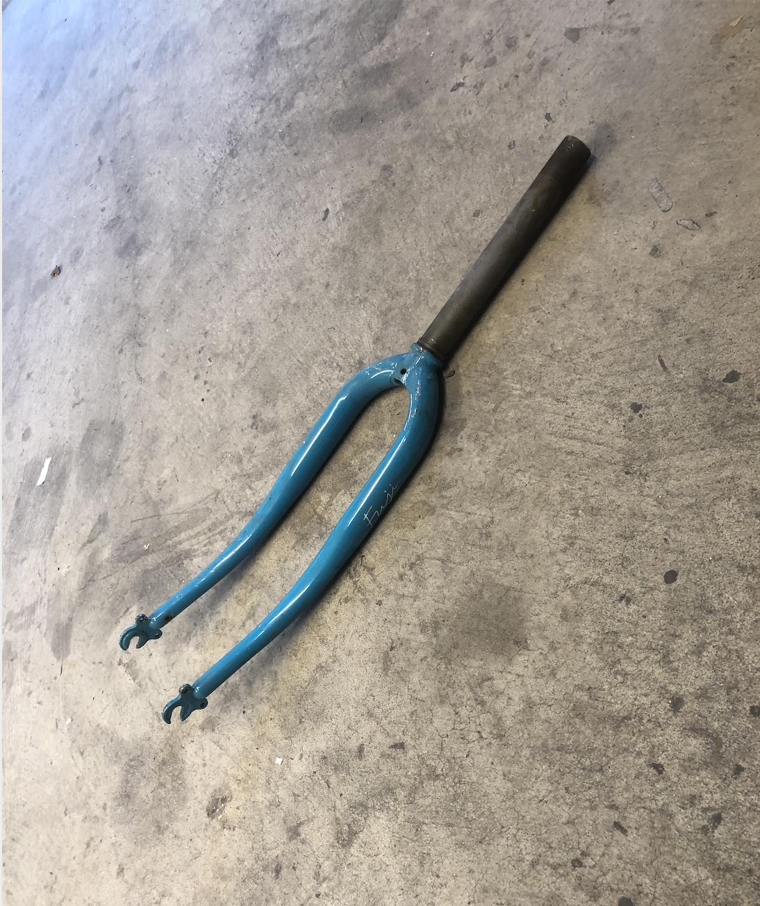 Threaded Fuji  Fork (Light Blue)