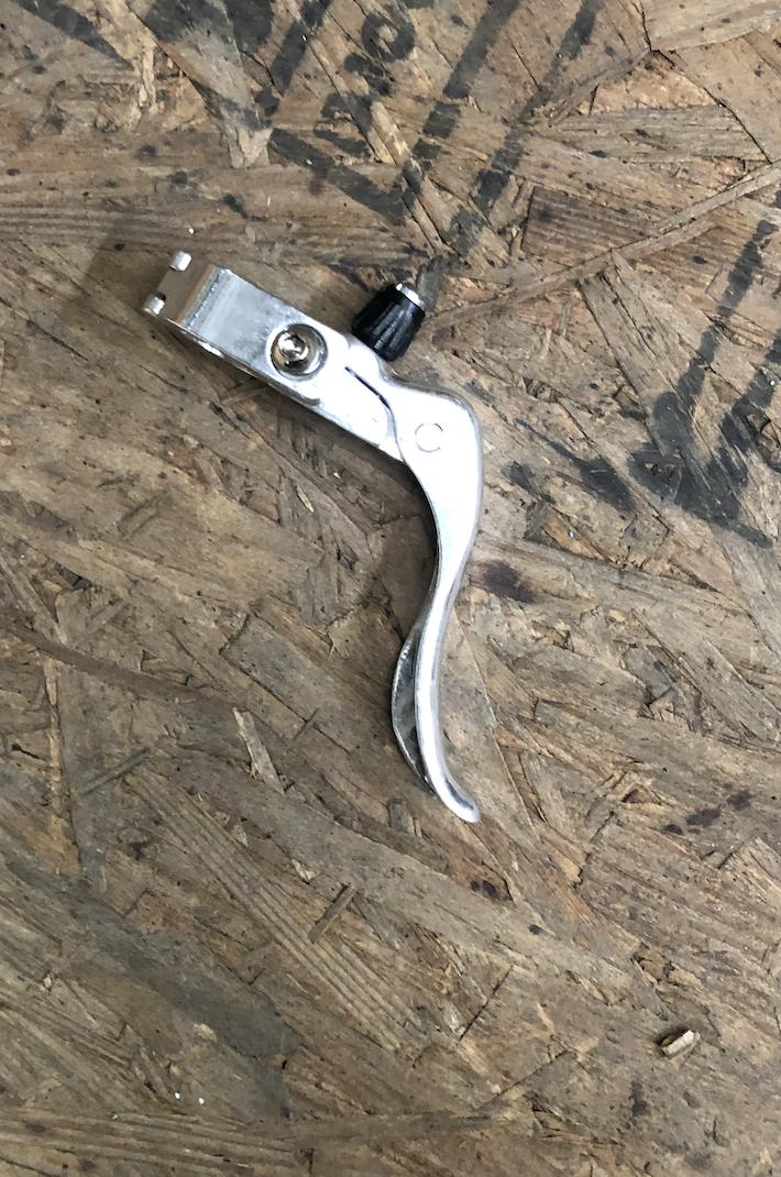 Hybrid Brake Lever (Silver)