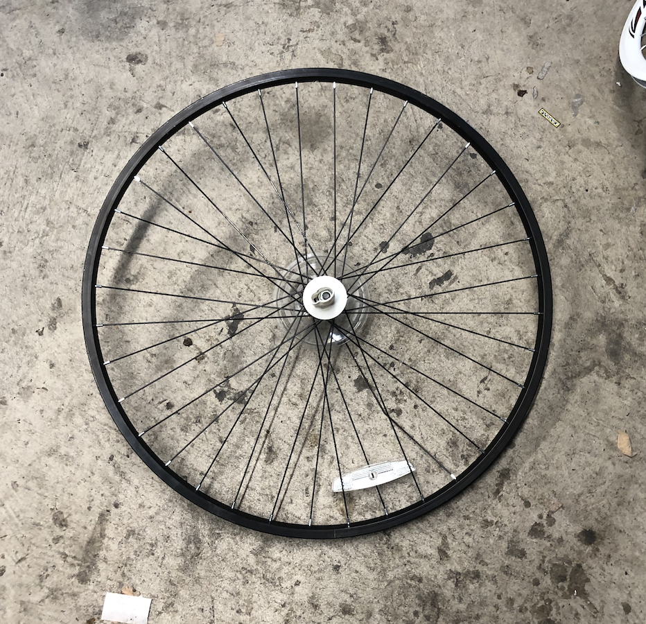 "29"" Aluminum Wheel Black"