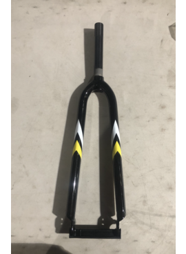 Threaded 700 Hybrid Fork (Black & Yellow)