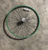 "26"" Front Aluminum Wheel Green"