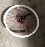 "18"" Rear Steel Wheel / Coaster Brake (White)"