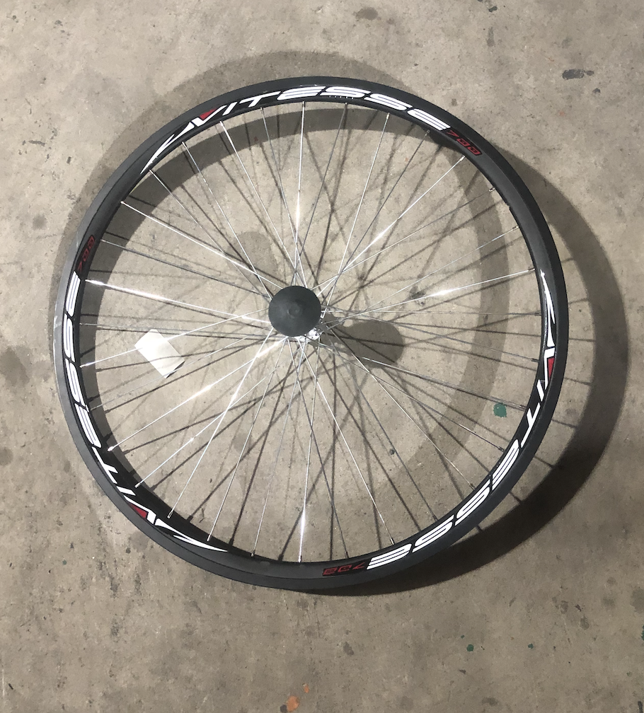 "27"" Vitesse 700 Front Aluminum Wheel"