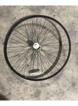 "27"" Front Aluminum Wheel (Black)"