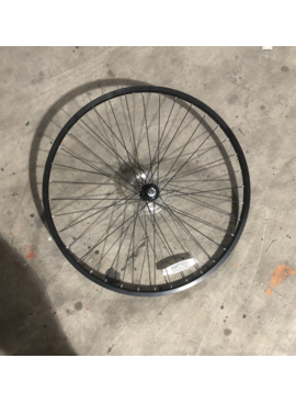 "26"" Aluminum Rear Wheel / Freewheel (Black)"