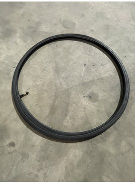 Bulk 700 X 25 Black Tire & Tube
