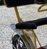Used 2014 NewTecnoArt Selene Sport Surrey Bike (Yellow & Red w/ Red Top)