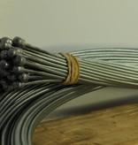 NewTecnoArt Long Rear Brake Cable, Passenger Side, Selene Bus L.