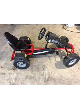 Used Berg Pedal Cart Red