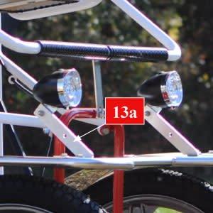 NewTecnoArt Support for Light Bracket, Passenger Side (new type)