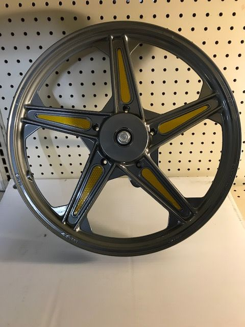 NewTecnoArt Front Wheel Naked Driver Side