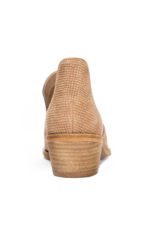 SUEDE SNAKE BOOTIE
