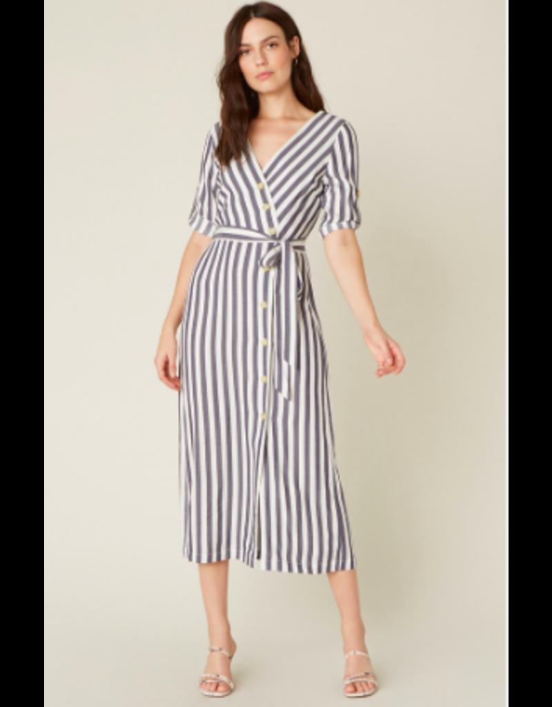 SET SAIL BUTTON FRONT DRESS