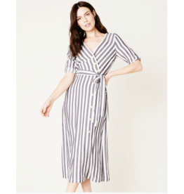 SET SAIL BUTTON FRONT DRESS