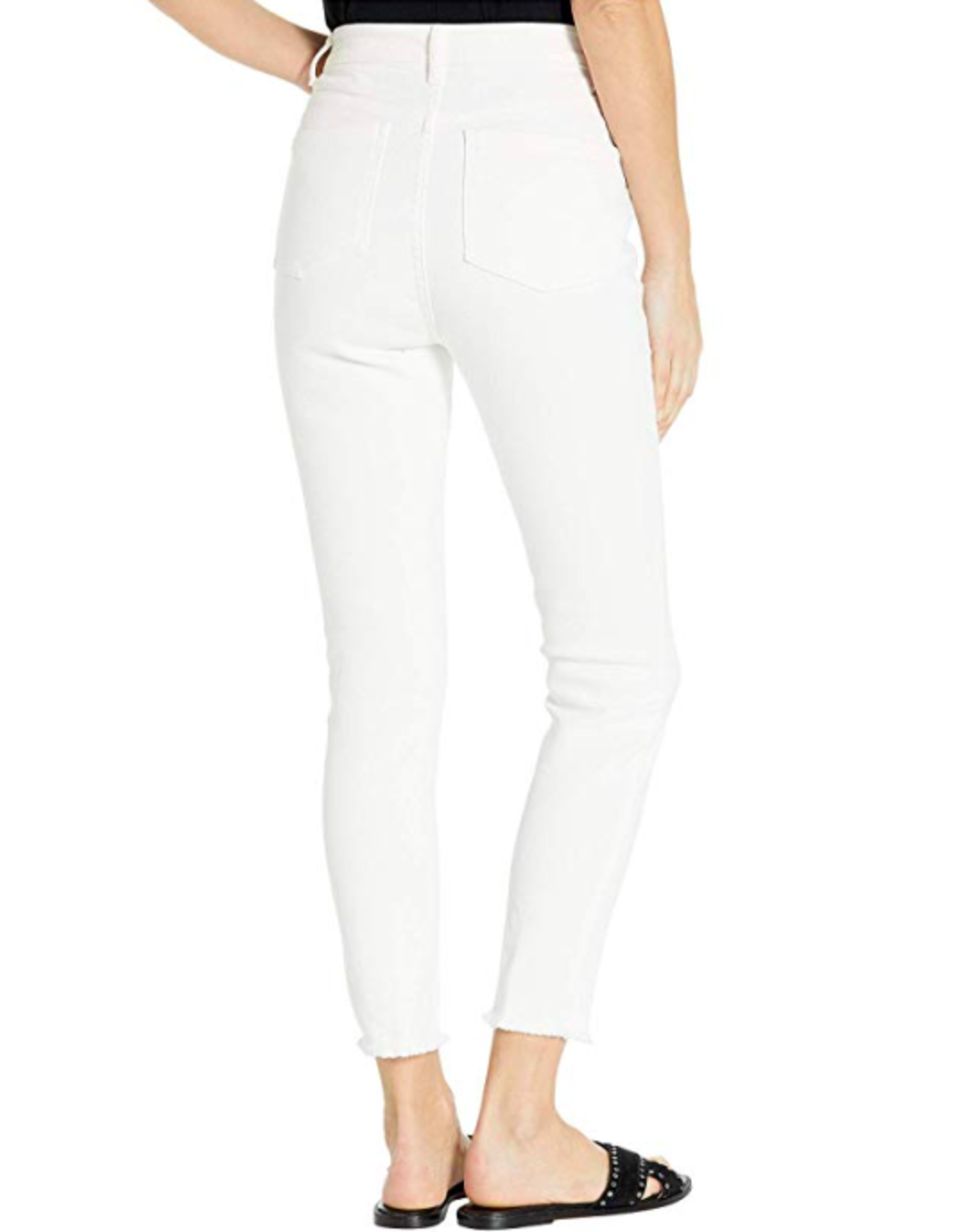HIGH RISE BUTTON FLY JEANS
