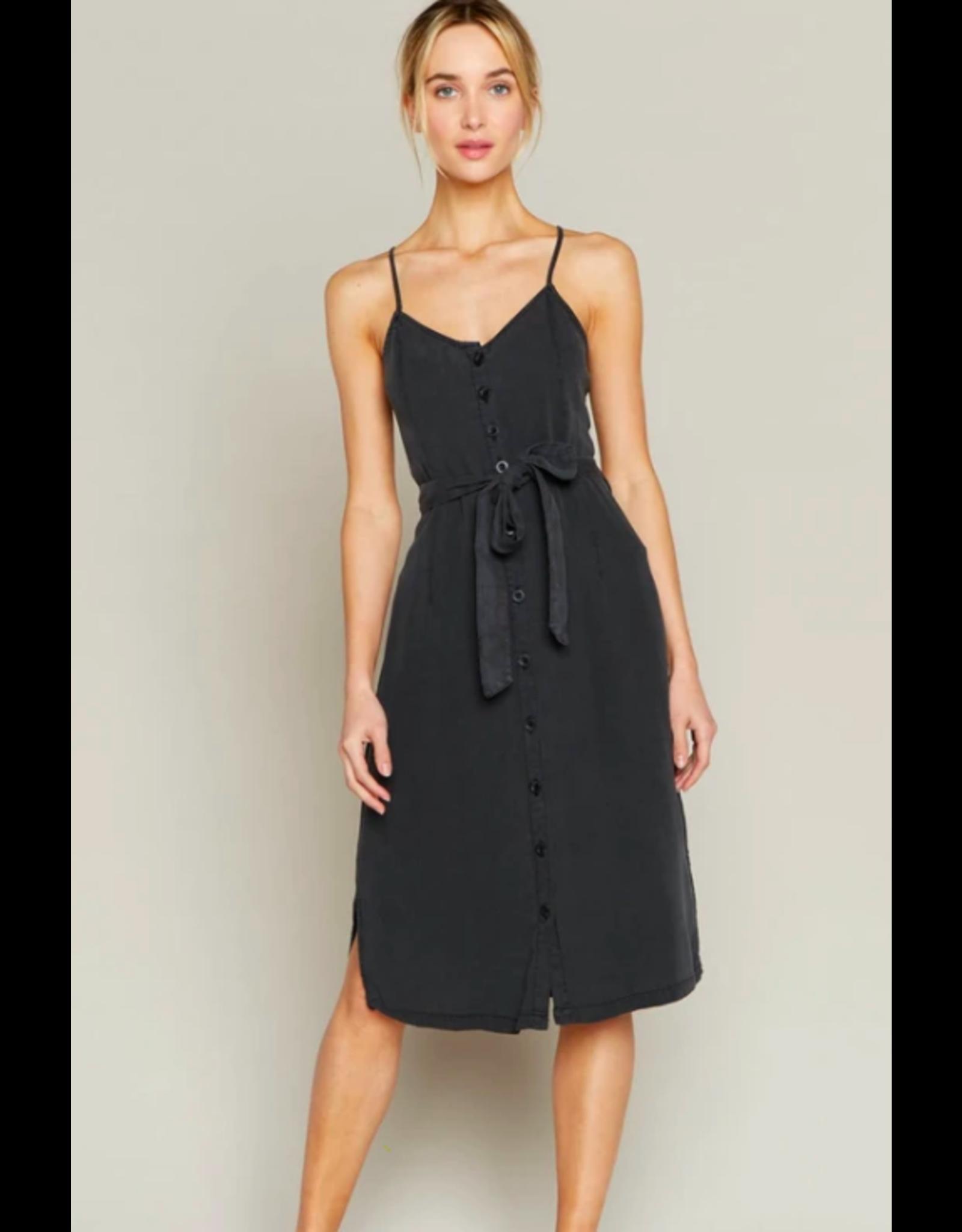 TENCEL  STRAPPY DRESS