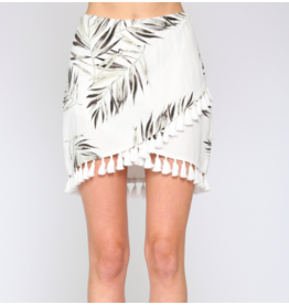 PALM TASSEL SKIRT