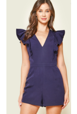 TRULY RUFFLED FRONT ROMPER