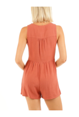 BUTTON FRONT ROMPER