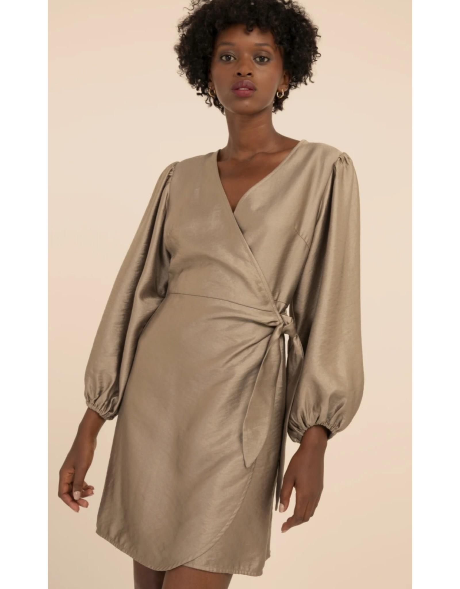 ACELA TIE FRONT DRESS