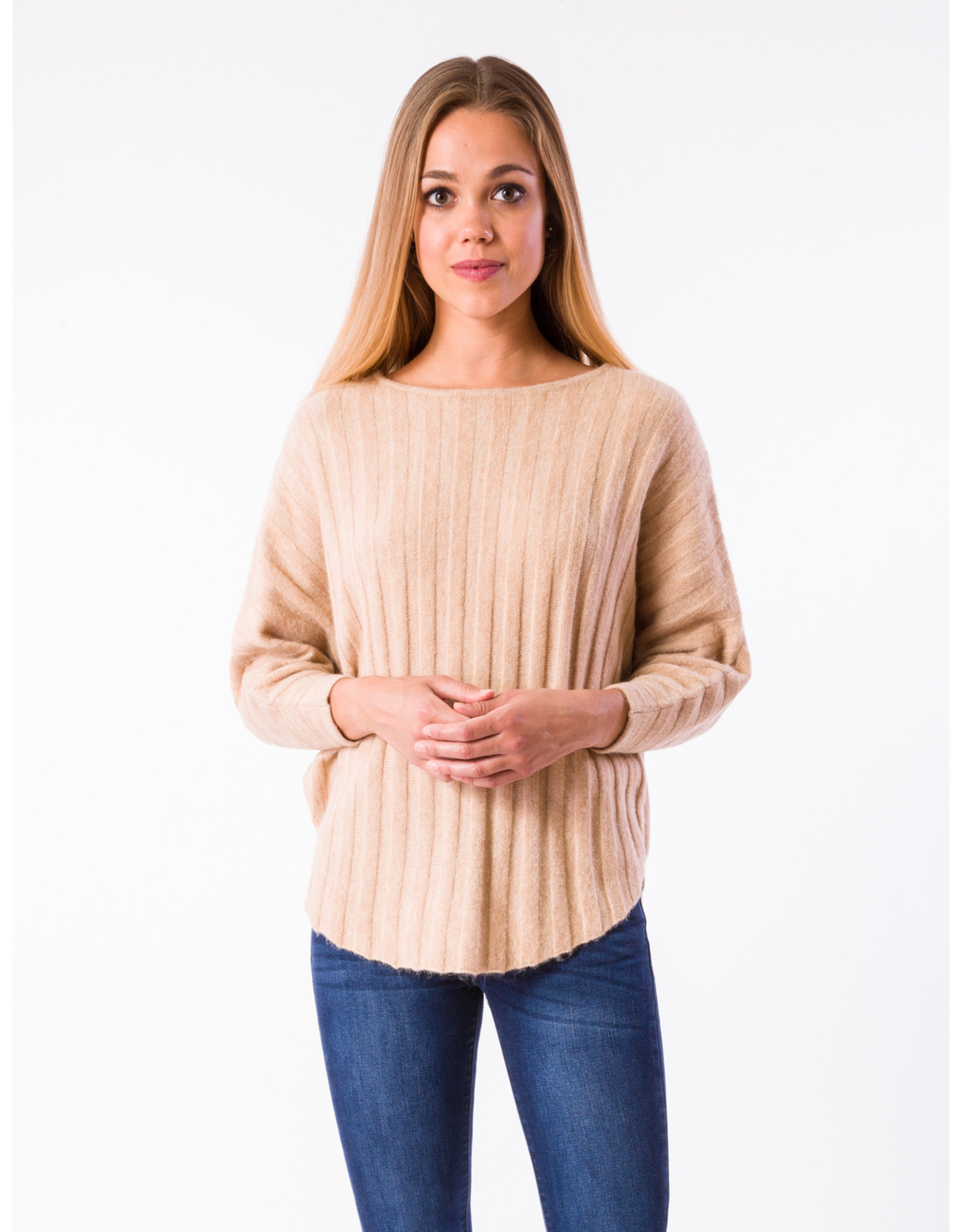 RYU KNIT WIDE RIB SWEATER