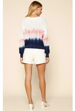 WATERCOLOR OMBRE SPRING SWEATER